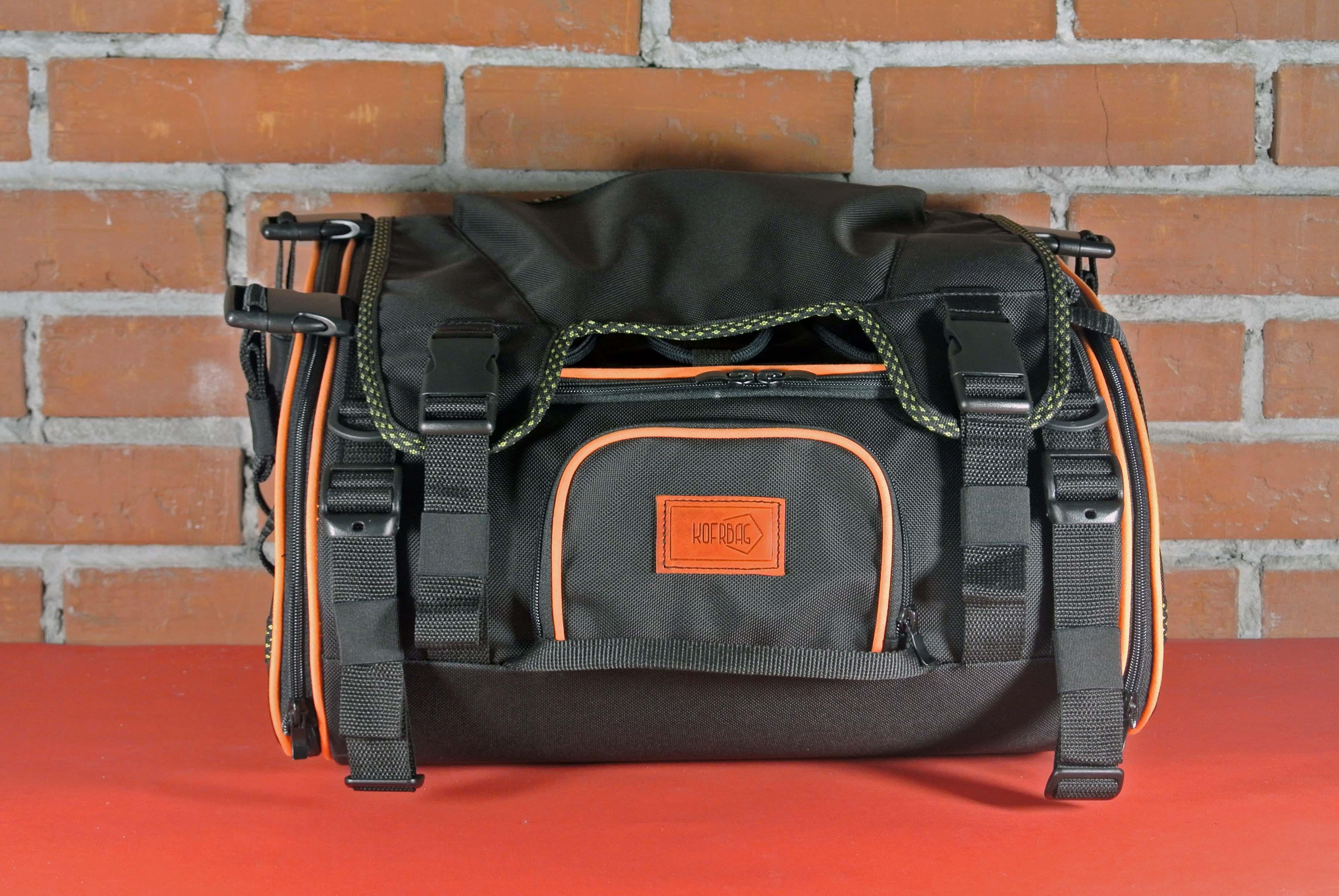 Задняя багажная сумка для мотоцикла